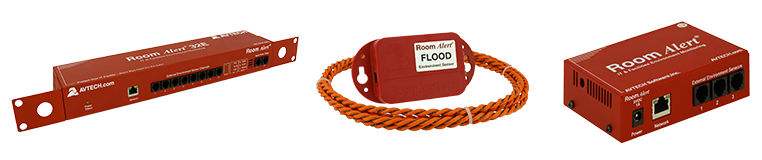 Free Flood Sensor With All NEW Room Alert 32E / 12E / 12ER Monitors