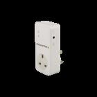 Powertxt GSM Remote Power Switch with Single UK Socket