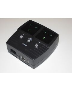 MSNswitch Dual Port Power Switch with UK Sockets