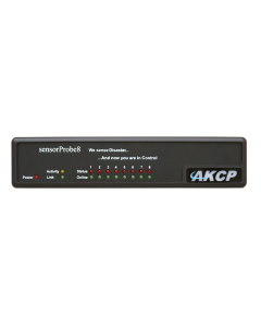AKCP sensorProbe8 8 Port Environment Monitor with PoE