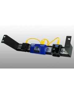 AKCP Single 1U Din Rail Rack Mount Kit