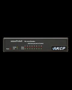 AKCP sensorProbe8 8 Port Environment Monitor with PoE