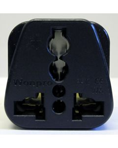 Universal Plug to IEC Connector Adapter