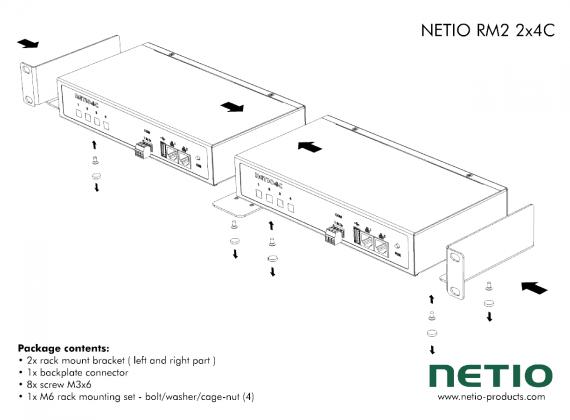 NETIO-RM2-2x4C